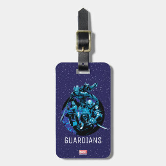 Guardians of the Galaxy | Blue Crew Graphic Luggage Tag