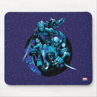 Guardians of the Galaxy   Blue Crew Graphic Mouse Pad
