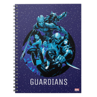 Guardians of the Galaxy | Blue Crew Graphic Notebook