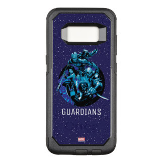 Guardians of the Galaxy   Blue Crew Graphic OtterBox Commuter Samsung Galaxy S8 Case
