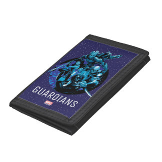 Guardians of the Galaxy | Blue Crew Graphic Tri-fold Wallet