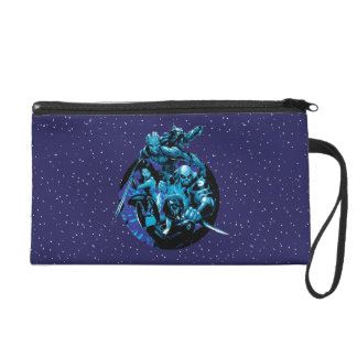 Guardians of the Galaxy | Blue Crew Graphic Wristlet Purse