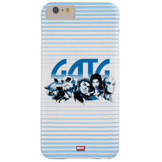 Guardians of the Galaxy | Cartoon Crew Retro Logo Barely There iPhone 6 Plus Case