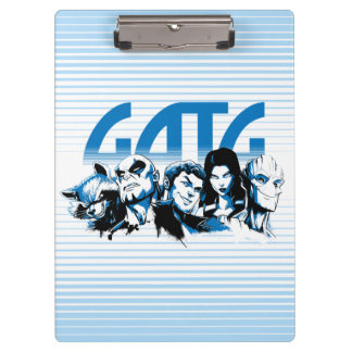 Guardians of the Galaxy | Cartoon Crew Retro Logo Clipboard