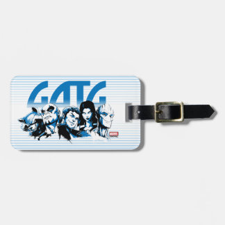 Guardians of the Galaxy | Cartoon Crew Retro Logo Luggage Tag