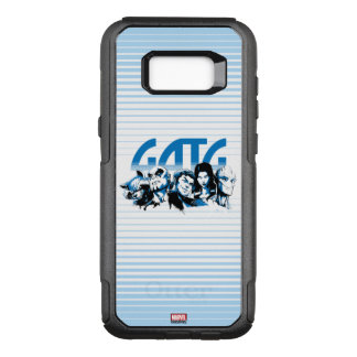 Guardians of the Galaxy   Cartoon Crew Retro Logo OtterBox Commuter Samsung Galaxy S8+ Case