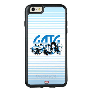 Guardians of the Galaxy | Cartoon Crew Retro Logo OtterBox iPhone 6/6s Plus Case