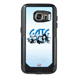 Guardians of the Galaxy | Cartoon Crew Retro Logo OtterBox Samsung Galaxy S7 Case