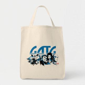 Guardians of the Galaxy | Cartoon Crew Retro Logo Tote Bag