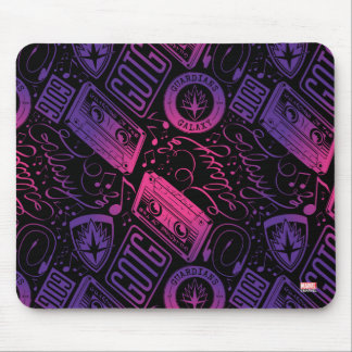 Guardians of the Galaxy | Cassette Tape Unraveled Mouse Pad