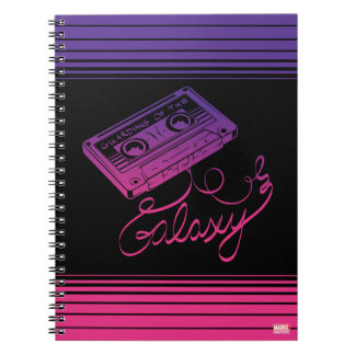 Guardians of the Galaxy | Cassette Tape Unraveled Notebook