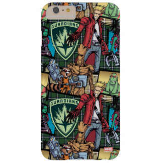 Guardians of the Galaxy | Comic Crew Pattern Barely There iPhone 6 Plus Case