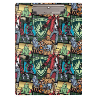 Guardians of the Galaxy | Comic Crew Pattern Clipboards