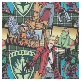 Guardians of the Galaxy | Comic Crew Pattern Fabric