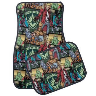 Guardians of the Galaxy | Comic Crew Pattern Floor Mat
