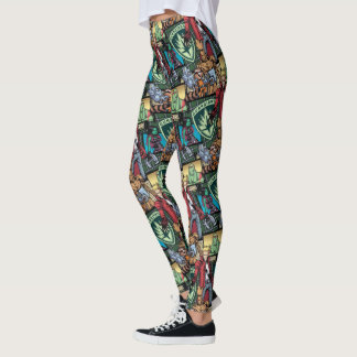 Guardians of the Galaxy | Comic Crew Pattern Leggings