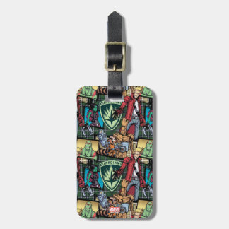Guardians of the Galaxy | Comic Crew Pattern Luggage Tag