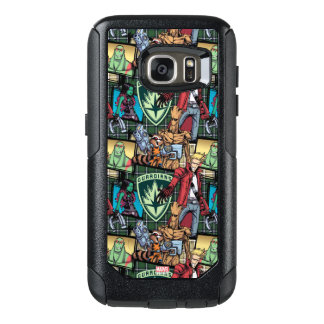 Guardians of the Galaxy   Comic Crew Pattern OtterBox Samsung Galaxy S7 Case