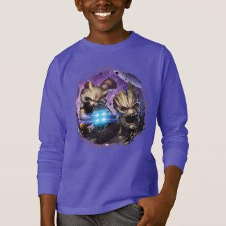 Guardians of the Galaxy | Comic Crew Pattern T-Shirt