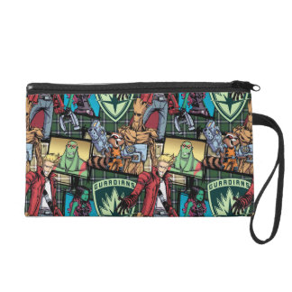 Guardians of the Galaxy   Comic Crew Pattern Wristlet Clutches