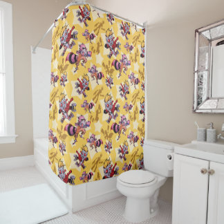 Guardians of the Galaxy | Comic Star Pattern Shower Curtain