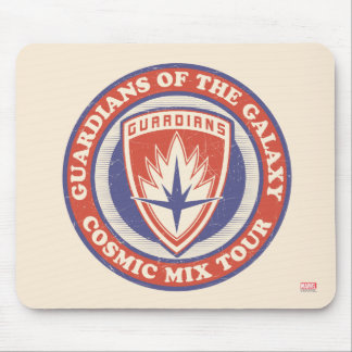 Guardians of the Galaxy | Cosmic Mix Tour Badge Mouse Pad