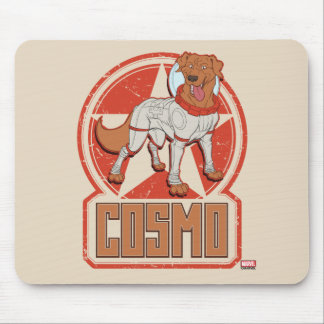 Guardians of the Galaxy | Cosmo Character Badge Mouse Pad