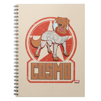 Guardians of the Galaxy | Cosmo Character Badge Notebooks