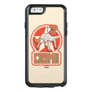 Guardians of the Galaxy | Cosmo Character Badge OtterBox iPhone 6/6s Case