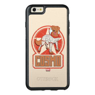 Guardians of the Galaxy | Cosmo Character Badge OtterBox iPhone 6/6s Plus Case