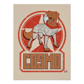 Guardians of the Galaxy | Cosmo Character Badge Poster