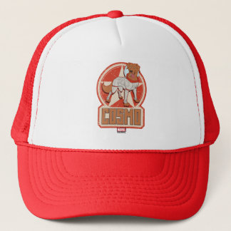 Guardians of the Galaxy | Cosmo Character Badge Trucker Hat