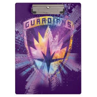 Guardians of the Galaxy | Crest Neon Burst Clipboard