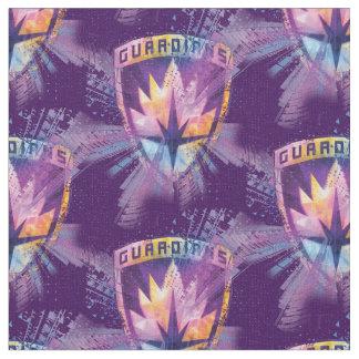 Guardians of the Galaxy | Crest Neon Burst Fabric