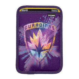 Guardians of the Galaxy   Crest Neon Burst iPad Mini Sleeve