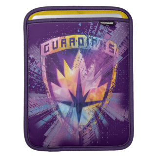 Guardians of the Galaxy | Crest Neon Burst iPad Sleeve