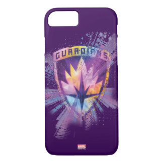 Guardians of the Galaxy | Crest Neon Burst iPhone 8/7 Case