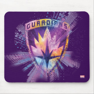 Guardians of the Galaxy | Crest Neon Burst Mouse Pad