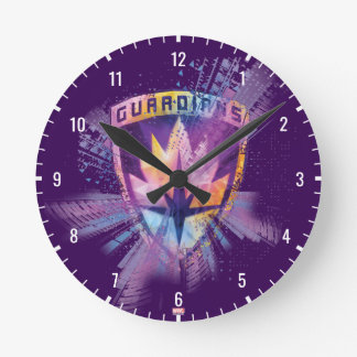 Guardians of the Galaxy | Crest Neon Burst Round Clock