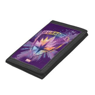 Guardians of the Galaxy | Crest Neon Burst Tri-fold Wallet