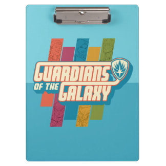 Guardians of the Galaxy | Crew Color Bar Logo Clipboards