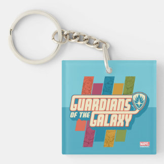 Guardians of the Galaxy | Crew Color Bar Logo Key Ring