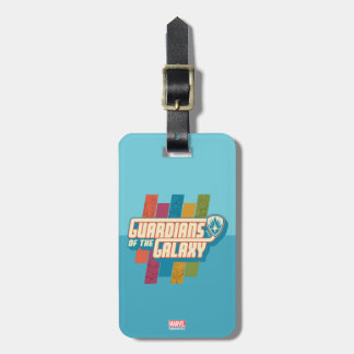 Guardians of the Galaxy | Crew Color Bar Logo Luggage Tag