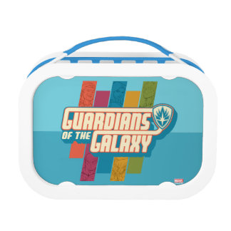 Guardians of the Galaxy | Crew Color Bar Logo Lunch Box