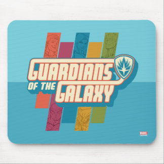 Guardians of the Galaxy | Crew Color Bar Logo Mouse Pad