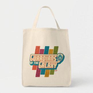 Guardians of the Galaxy | Crew Color Bar Logo Tote Bag