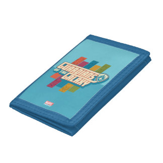 Guardians of the Galaxy | Crew Color Bar Logo Tri-fold Wallets