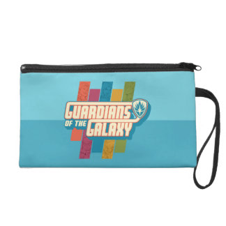 Guardians of the Galaxy | Crew Color Bar Logo Wristlet Clutches