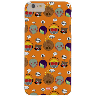 Guardians of the Galaxy | Crew Comic Emoji Art Barely There iPhone 6 Plus Case
