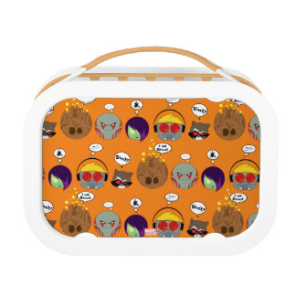 Guardians of the Galaxy | Crew Comic Emoji Art Lunch Box